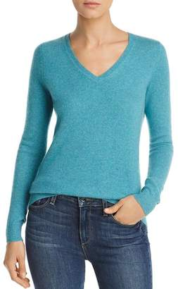 Bloomingdale's C by V-Neck Cashmere Sweater - 100% Exclusive