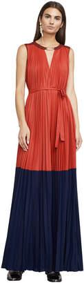 BCBGMAXAZRIA Adelaide Color-Blocked Gown
