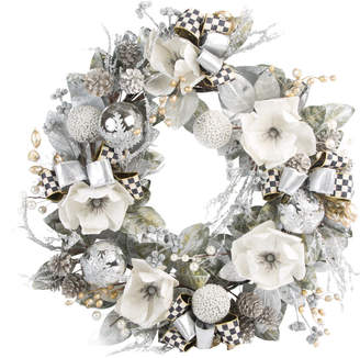 Mackenzie Childs MacKenzie-Childs - Silver Shimmer Wreath - Large