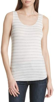Majestic Stripe Scoop Neck Tank Top