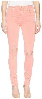 J Brand Maria High-Rise Skinny in Grapefruit Exposure Women's Jeans