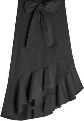 Saloni Cotton Skirt with Ruffles and Bow