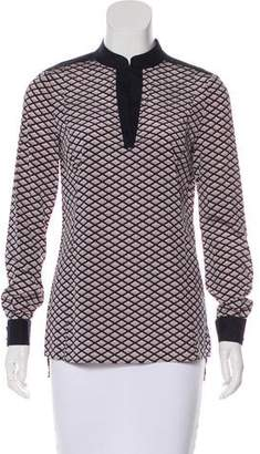Tory Burch Geometric Printed Tunic