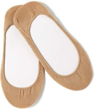 Hue Women's Hidden Cotton No Show 4 Pack Socks