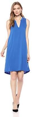 Michael Stars Women's Rylie Rayon Sleeveless v-Neck Dress