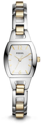 Fossil Isobel Three-Hand Two-Tone Stainless Steel Watch