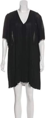 Toga Pulla Dolman Sleeve Mini Dress Black Dolman Sleeve Mini Dress