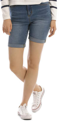 Essential Denim Short Mid Blue