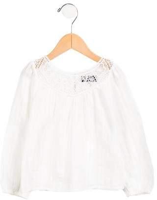 Ralph Lauren Girls' Long Sleeve Top