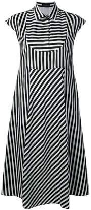 Piazza Sempione striped shirt dress