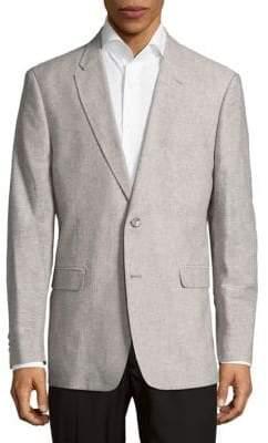 Tommy Hilfiger Textured Button-Front Jacket