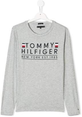 Tommy Hilfiger Junior TEEN logo printed T-shirt