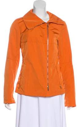 Max Mara Long Sleeve Zip-Up Jacket