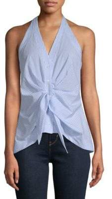 Supply & Demand Tibby Sleeveless Tie-Front Top