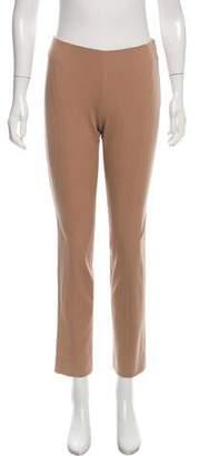 Alberta Ferretti Mid-Rise Straight-Leg Pants w/ Tags