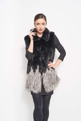 Furious Fur Faux Fox Vest