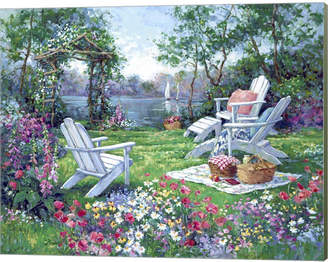 Adirondack (アディロンダック) - Metaverse Adirondack Summer By Barbara Mock Canvas Art