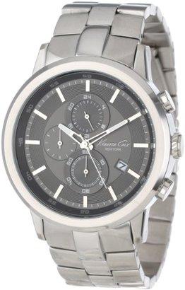 Kenneth Cole New York Men 's kc9225 Dress Sport Triple Blackクォーツリンクブレスレット腕時計