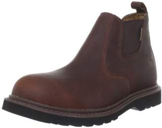 """Carhartt Men's 4"""" Romeo Waterproof Breathable Non Safety Toe Pull-On Boot CMS4100"""