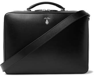 Mark Cross Baker Saffiano Leather Briefcase