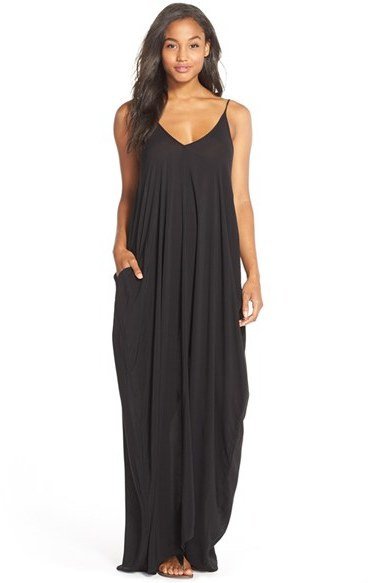 Women's Elan V-Back Cover-Up Maxi Dress