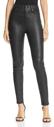 Equipment Skinny Leather Pants