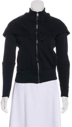 Alo Yoga Hooded Zip-Up Jacket
