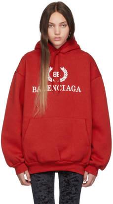 Balenciaga Red BB Hoodie