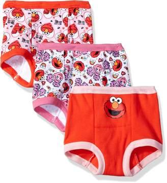 Sesame Street Toddler Girls' Elmo 3 Pack Training Pant