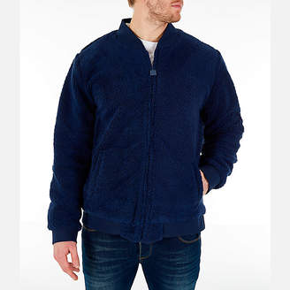 Fila Men's Louis Sherpa Full-Zip Jacket