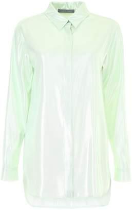Alberta Ferretti Lurex Shirt