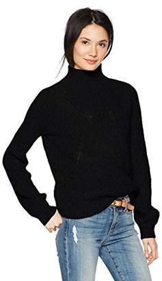 Lucky Brand Women's Blouson Sleeve Sweater