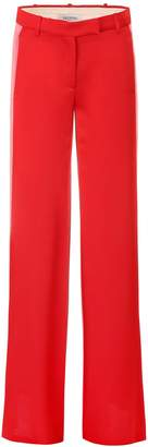 Valentino Bicolor Satin Trousers