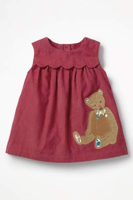 Next Girls Boden Red Applique Friends Dress