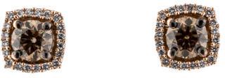 Le Vian 14K Diamond Halo Studs $3,495 thestylecure.com