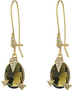 Alexis BittarAlexis Bittar Crystal Encrusted Mosaic Futurist Drop w/ Custom Cut Stone Earrings
