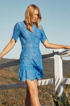 Saylor Scallop Lace Dress
