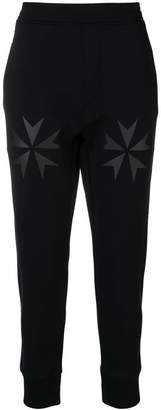 Neil Barrett Military Star print joggers