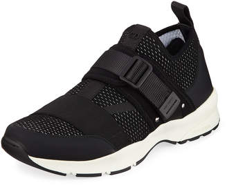 Christian Dior Men's Sneakers with Strap Accent