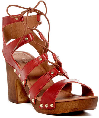 Kenneth Cole Reaction Log Fire Sandal $89 thestylecure.com