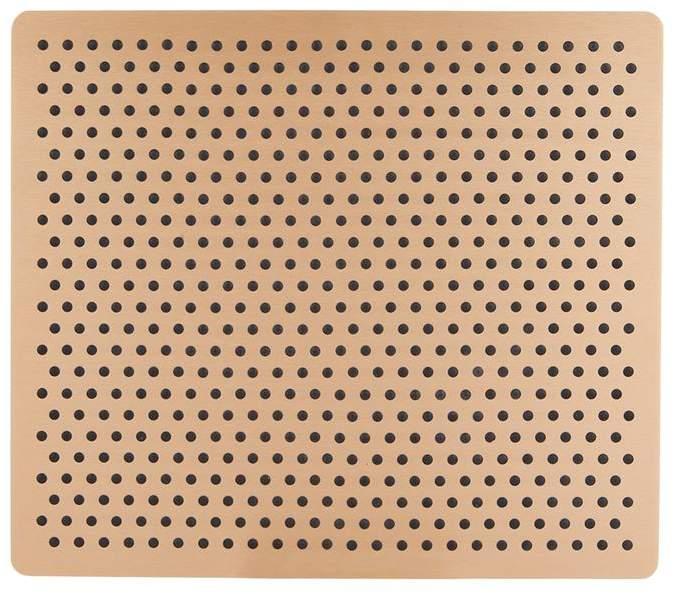 Kaymet Aluminium Rubber Grip Place Mat (21cm x 31cm)