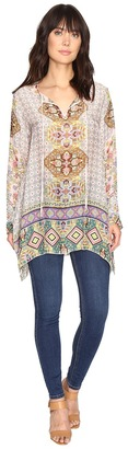 Johnny Was Tempo Flair Blouse $220 thestylecure.com