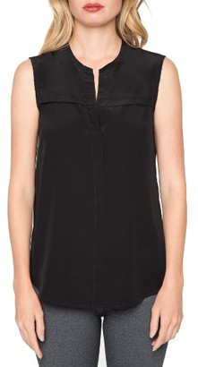 Women's Willow & Clay Grommet Tank $69 thestylecure.com