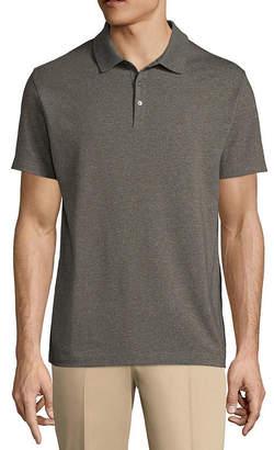Claiborne Short Sleeve Jersey Polo Shirt