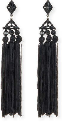 Lulu Frost Helena Beaded Tassel Earrings