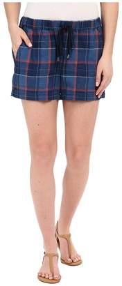 Splendid Casta Plaid Shorts Women's Shorts
