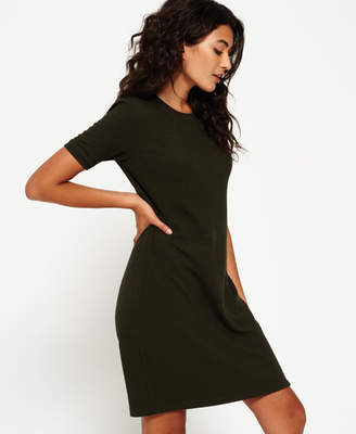 Superdry Zip Back T-shirt Dress