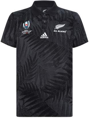 adidas All Blacks Rugby World Cup Y-3 Supporters Home Shirt