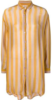 Mes Demoiselles striped pyjama blouse