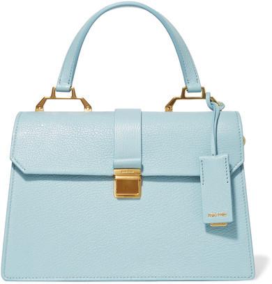 Miu MiuMiu Miu - Textured-leather Tote - Blue